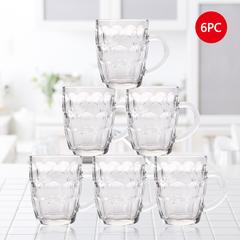 Sundabests 6pcs 450ml Glass Round High Quality Glass Glassware (130007711) transparent 6pcs