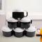 Sundabests 6pcs Ceramic Cups High Quality Affordable Tea ,Milk , Coffee Ceramic Cups(130010994) black&white 6pcs