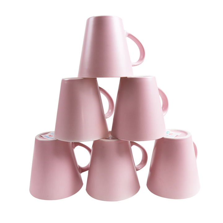 Sundabests 6pcs High Quality Tea Milk Coffee Ceramic Cups(130011675) pink 6pcs