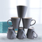Sundabests 6pcs High Quality Tea Milk Coffee Ceramic Cups(130011675) grey 6pcs