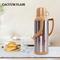 SUNDABESTS 2.0L New Fashion Vacuum Flask(130007321) brown 2.0L