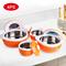 SUNDABESTS 4Pcs Insulated Casserole Hot Pot Serving Dishes (130005543) orange 0.5l, 1l, 1.8l, 2.8l