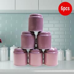 Sundabests 6pcs High Quality Tea Milk Coffee Ceramic Mug Cups(130011498) purple one size