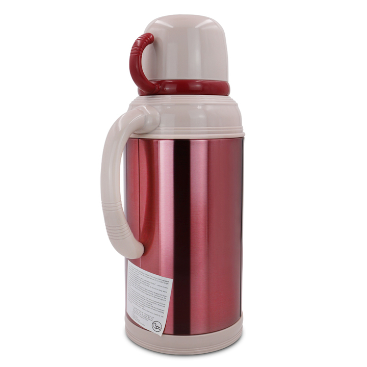 SUNDABESTS 1.8L New Vacuum Flask Thermoses Insulation pot(130008157) maroon 1.8l