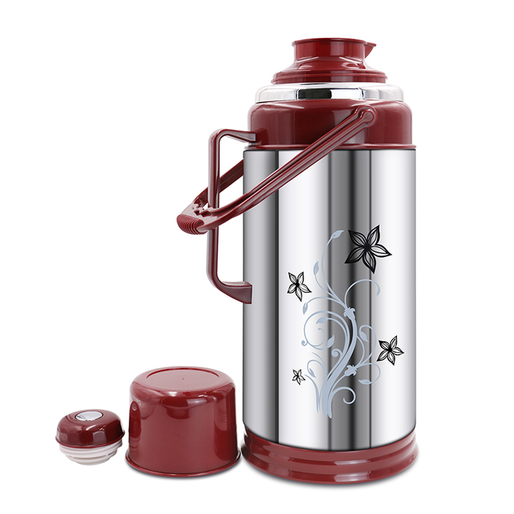 SUNDABESTS 3.2L New Vacuum Flask Thermoses Insulation pot(130007138) brown 3.2l