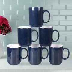 Sundabests 6pcs High Quality Tea Milk Coffee Ceramic Cups(1300012574) blue 6pcs