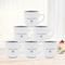 Sundabests 6pcs High Quality Tea Milk Coffee Ceramic Cups(1300012617) blue 6pcs