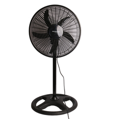 COURONNE Stand Fan, Powerful and Quiet , Household Fan air conditioner black