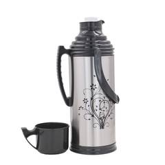 Sundabests High Quality 2.0L New Vacuum Flask Thermoses Insulation Pot(130011206) black 2.0l