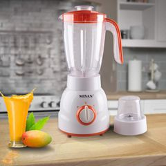 MISAN Electric 1.5L 2 In 1 Blender with 2 Speed (190000953) white