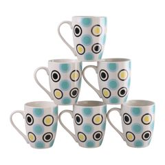 Sundabests 6pcs High Quality Special Design Tea Milk Coffee Ceramic Cups(130015822) as the picture 6pcs