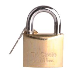 Tri-Circle Padlock 63mm NO 266 with 3 Keys(180002556) gold 63 mm