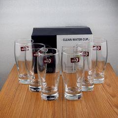 Sundabests 6pcs 305ml High Quality Milk Juicer Beer Wine Glass Cups(130017401) transparent 6pcs