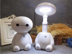 LED energy saving lamp scalable folded eye protection lamp night Light white robot 10 5