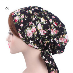 Ladies Fashion Cotton Bowknot Hood Women's Hot Headhead g