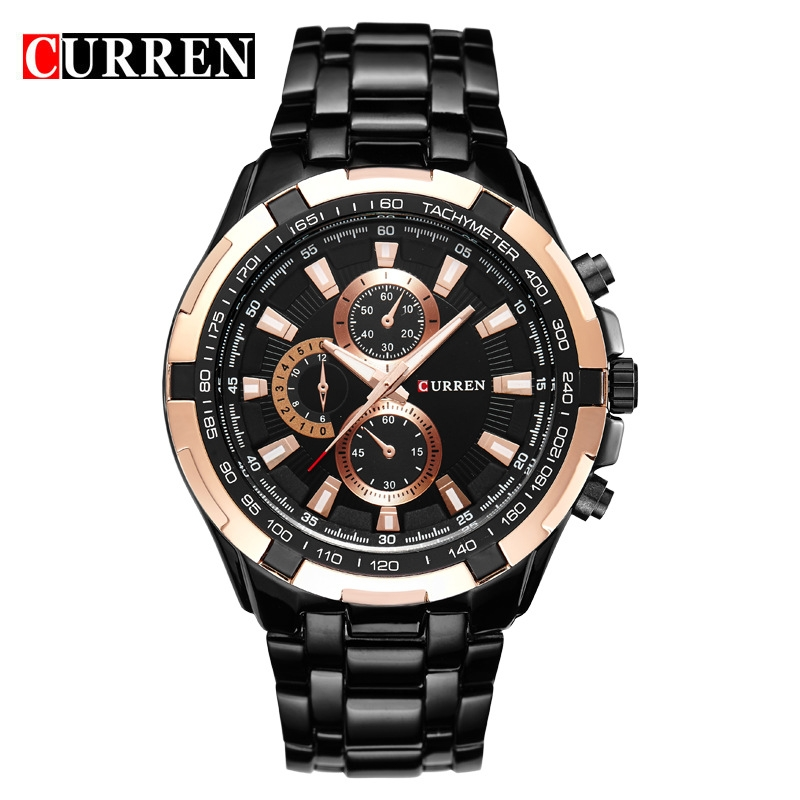036194c4e94 CURREN Watches Men Quartz Top Brand Analog Military Watches Men Sports  Waterproof Business Watches style1 one size