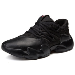 Height Increasing Shoes Men sneakers 2018  light breathable men casual shoes sneakers black 39
