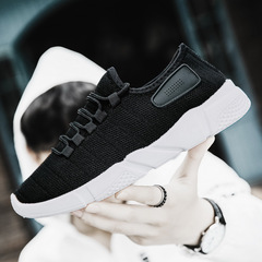 Christmas sales Sports leisure shoes for men non-slip breathable shoes casual and comfortable shoes black 39