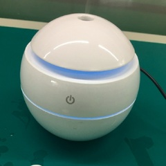 Home USB Aroma Essential Oil Diffuser Ultrasonic Humidifier Air Purifier 7 Color  LED Night light white one size