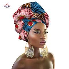 Ankara Design Dashiki Hoods Kitenge Cotton Clothing for African National Cotton Printing Headscarf 1#