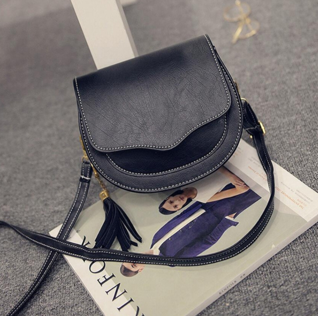 81213a0a82 ... Shoulder Bags for Women Tassel Female Messenger Bag Small black one size   Product No  7305686. Item specifics  Brand