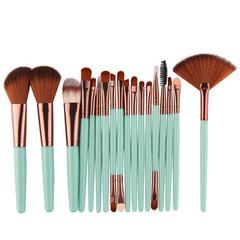 18Pcs Tools Kit Power Blush Eyeshadow Eyeliner Lip Make up Brushes Tool Popular Style Cosmetic 6