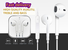 Apple android universal Wired headset intelligent control microphone one color