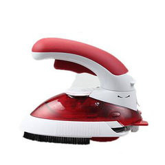 Travel Steam Iron Multifuction Electric Iron Steamer Portable Handy Steamer Iron 800W 220V EU Plug red