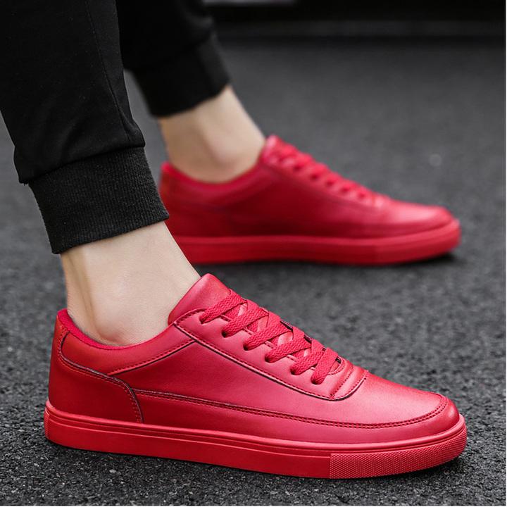 New men's shoes Men's Sneakers Casual men's shoes Vans red 39