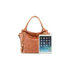 New fashion leather shoulder bag Ladies handbag Women's big bag, backpack, can be slanted, portable black onesize 43.0 cm * 15.0 cm * 31.0 cm