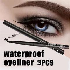 3pcs/lot Waterproof Retractable Rotary Eyeliner Pen Eye Liner Pencil Makeup Cosmetic Tool black