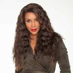 Long Brown Black Wig Curly Wigs for Black Women Synthetic Wigs black one size