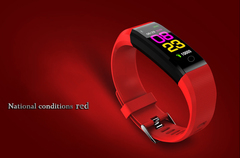 New smartwatch, male female blood pressure monitor, smartwatch, smartwatch, android + box red normal