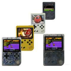 Coolbaby rs-6 portable mini game console 8-bit 3.0-inch color LCD children's game player 168 games