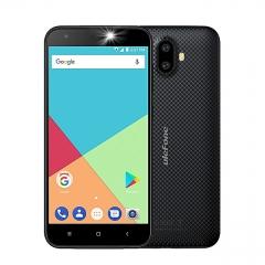 Ulefone S7 - 8GB - 1GB RAM (8MP+5 MP) Dual Camera - Dual Sim - 3G Smartphone black