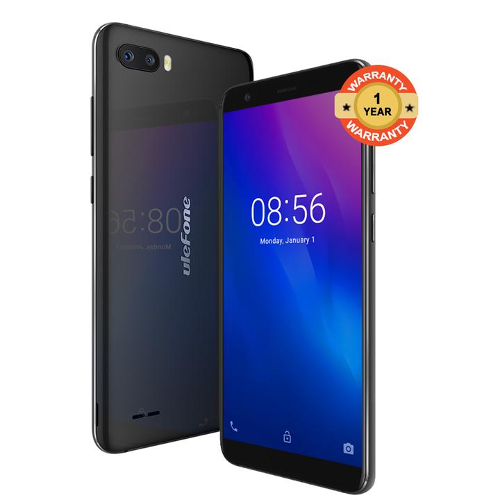 "Ulefone S1 - 5.5"" - 8GB - 1GB RAM - (8MP+5MP) Dual Camera, 4G (Dual SIM) black"