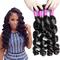 AOOTUS 100% Human Hair Brazilian Loose Wave Virgin Human Hair 1pcs/100g black 16