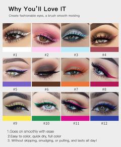 12 color handaiyan liquid matte eyeliner 12#