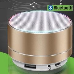 New Bluetooth speaker system aluminum alloy card mini speaker wireless Bluetooth subwoofer Sound Bar black 3w