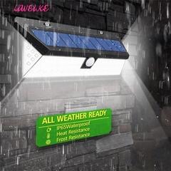 118 LED Solar Powered Motion Sensor Light 3 Modes Waterproof PIR Motion Sensor  Garden Pool Door 3mode(dim,off,light sense) 300X105X50mm/11.81X4.13X1.97 90_LED(16W)