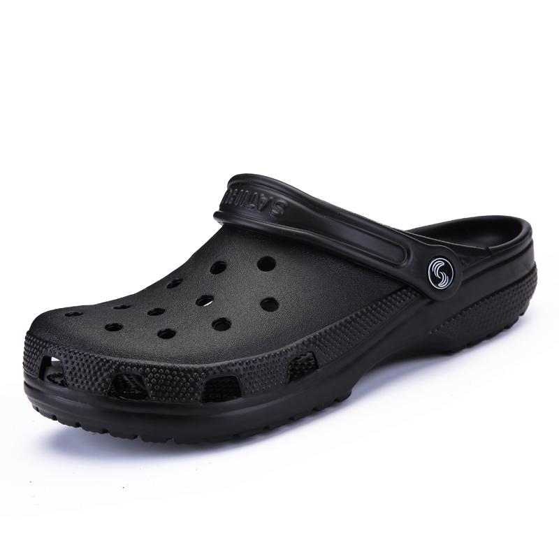 5f25a2189 Fashion Men Women Crocs Shoes Comfortable Summer Beach Sandals ...
