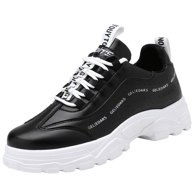 faa93f54cd52 New Fashion Thick-soled Casual Sports Shoes Men Breathable Tide Sneakers  Comfort Non-slip Shoes black 44  Product No  7861138. Item specifics  Brand