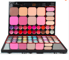 72 colors makeup set  gloss shading powder