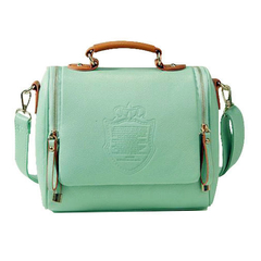 ZAFUL Barrel-Shaped Sling Bag green