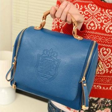 ZAFUL Barrel-Shaped Sling Bag navy blue