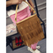 New Fringed Shoulder Matte Tasseles Handbag Grey