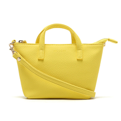 Elegant Leather Handbags/Crossbody Bag yellow