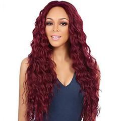 Wave Lace Front Human Hair Wigs For Black Women Human Hair Wigs Pre Plucked With Baby Hair Remy Wig Red 25cm