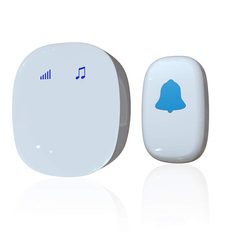 220V Wireless Doorbell Touch Control Waterproof Door Bell Chime Kit with 35 Melodies