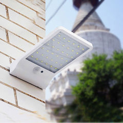 36 LED Outdoor Waterproof Light Solar Powered Motion Sensor Garden Security Lamp White 180*110*30mm 4W